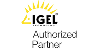 Logo für IGEL Partnerschaft Authorized Partner
