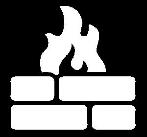 Icon für die Darstellung von Firewall & Security