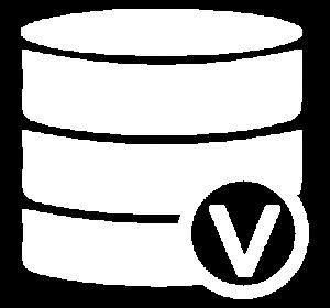 Icon für die Darstellung von Storage-Virtualisierung im Bereich Projekte