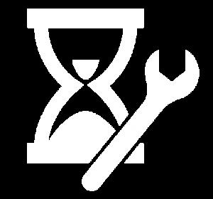Icon für Stundenkontingent im Bereich Service & Support