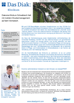 Download der Success Story Diakonie Klinikum Schwäbisch Hall