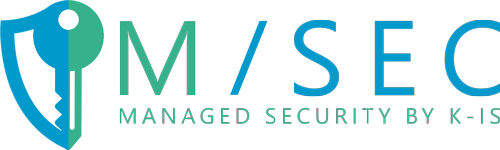Logo M/SEC - Managed Security by K-iS
